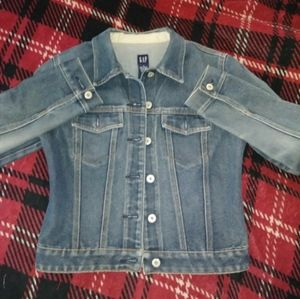 Blue denim jean jacket